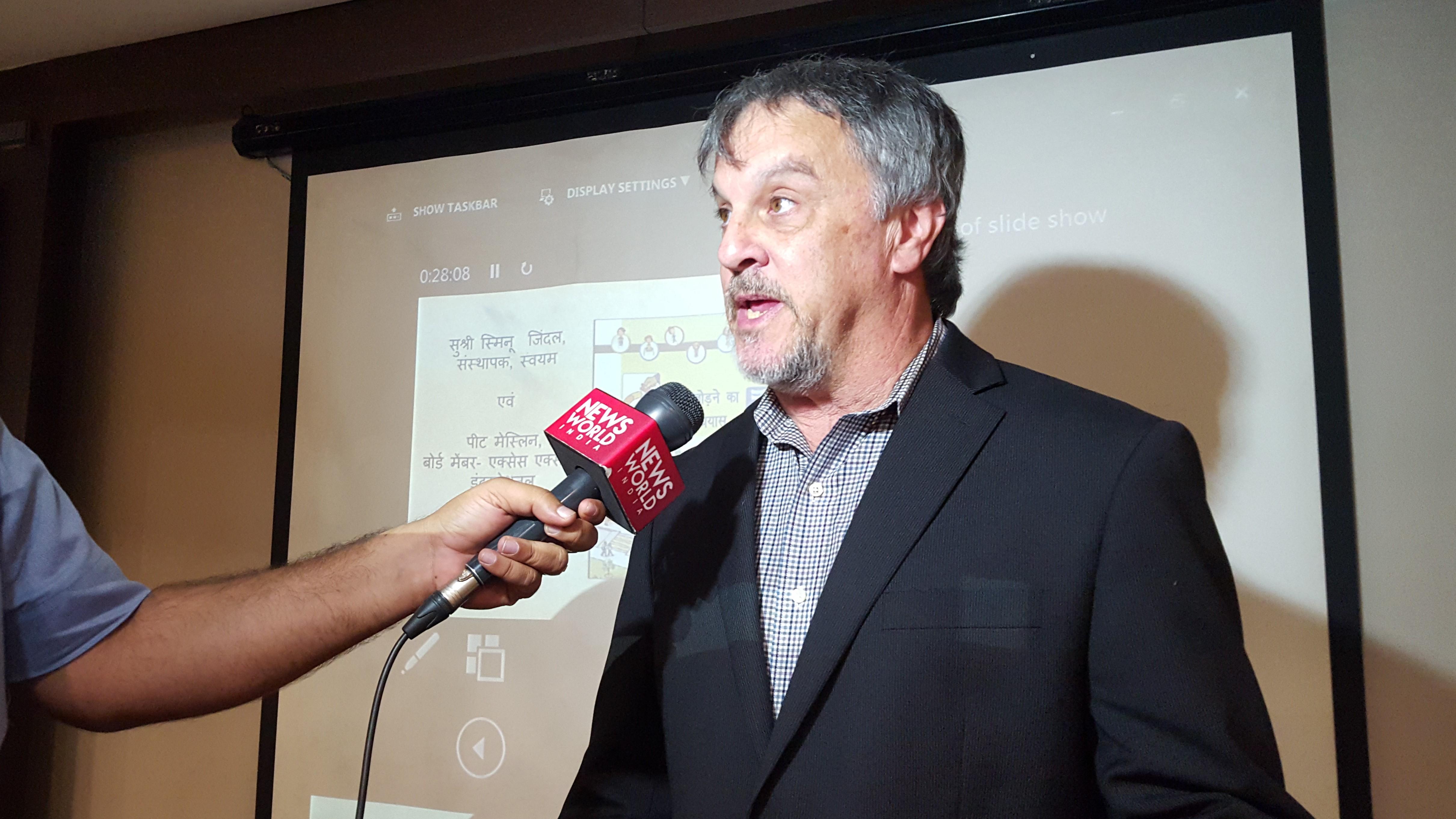 Image of Mr. Pete Meslin speaking