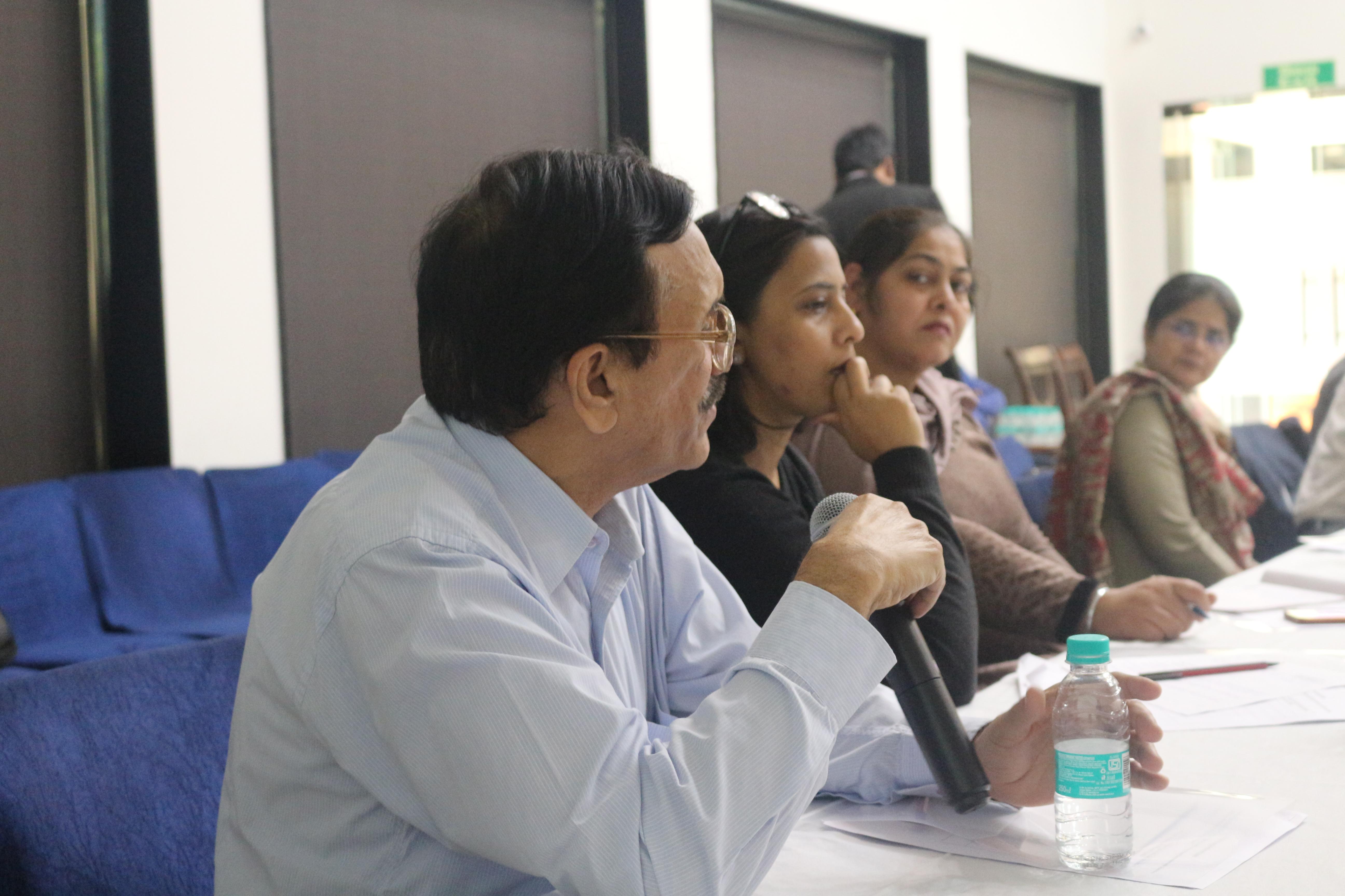 Mr. Rajive Raturi, Director, DRI, HRLN speaking