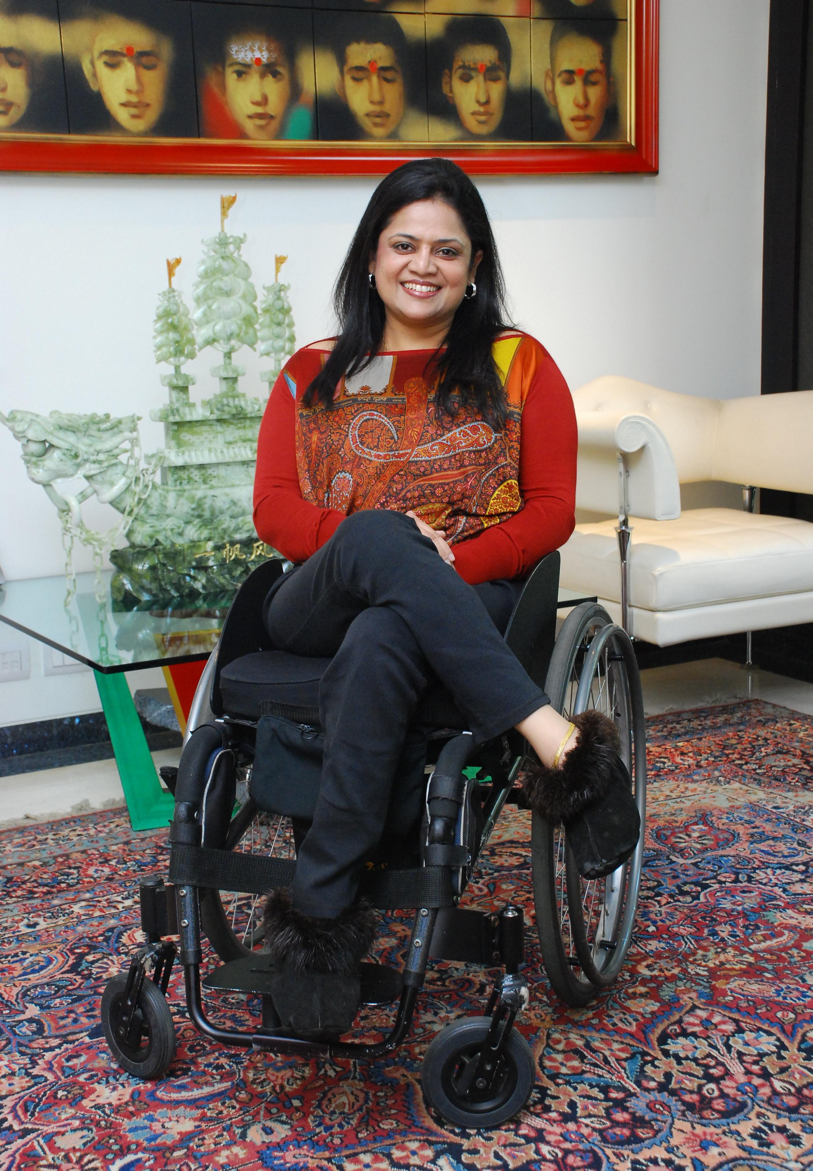 Photo of Ms. Sminu Jindal, Founder Svayam