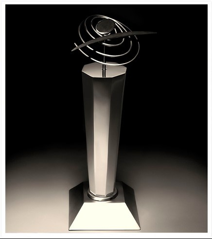 Picture of the Svayam Accessibility Award Trophy